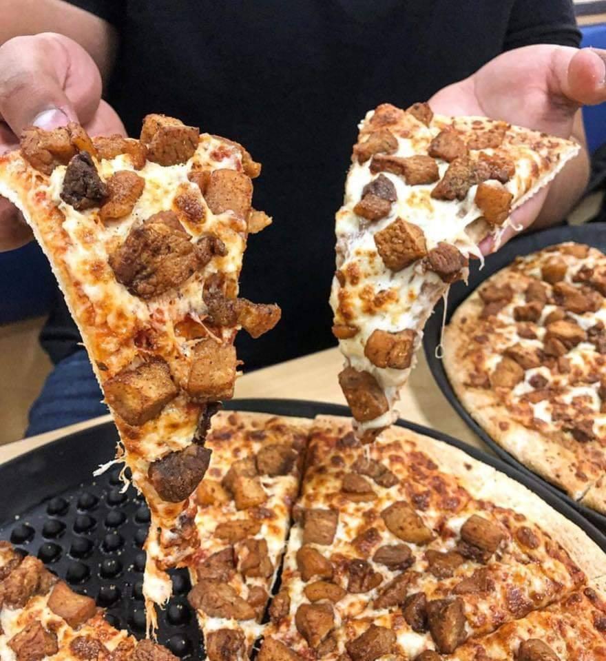 Pizza de Torresmo